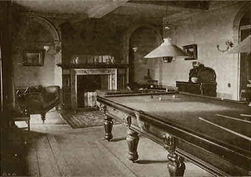 Temple Belwood REVIVALHERITAGE billiard room 1905