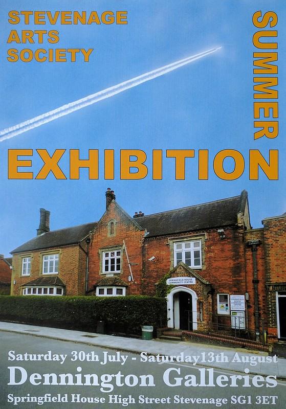 Stevenage Arts Summer Exhibition 2016