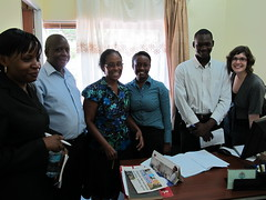 Uganda Harm Reduction Network (UHRN) and IDPC visit to progressive harm reduction services in Dar es Salaam, Tanzania.