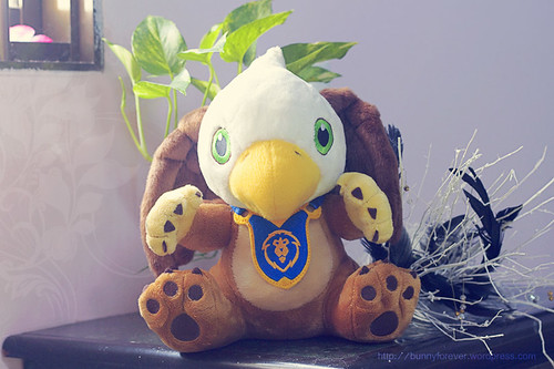World of Warcraft Gryffon Plush, alliance mount, flying mount