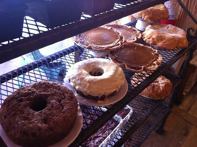 thyme cakes