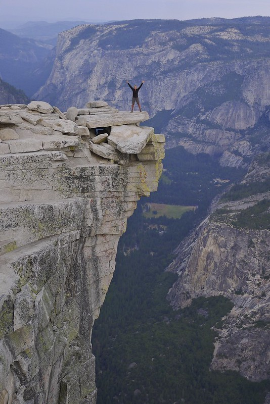 Diving Board on Half Dome