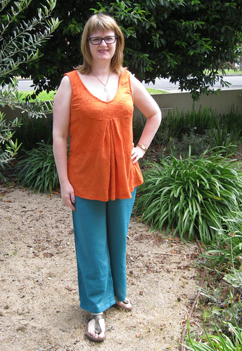 Kwik Sew 3467 view B with StyleARC Kerry (cargo) pant