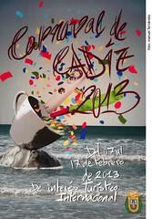 Cartel Carnaval Cadiz 2013