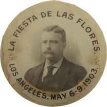 King Edward Hotel fiesta pinback 1903