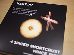 Heston from Waitrose, 4 Spiced Shortcrust Mince Pies