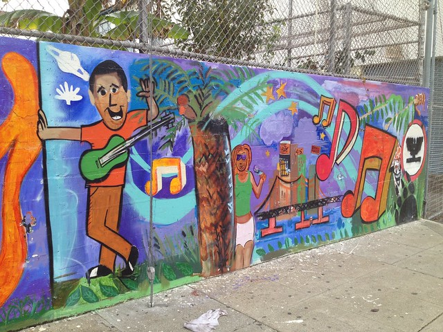 Mural at Mission High School