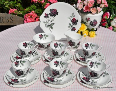 Royal Albert Masquerade Tea Set