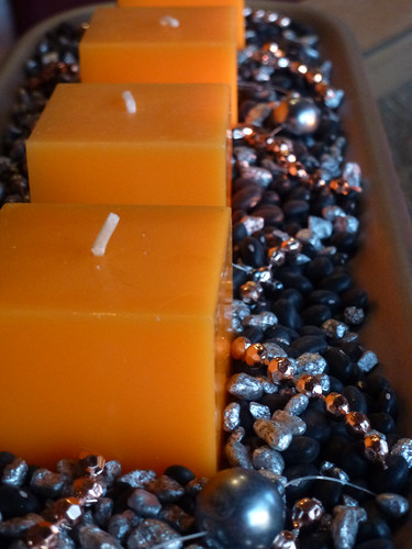 Decoration in orange