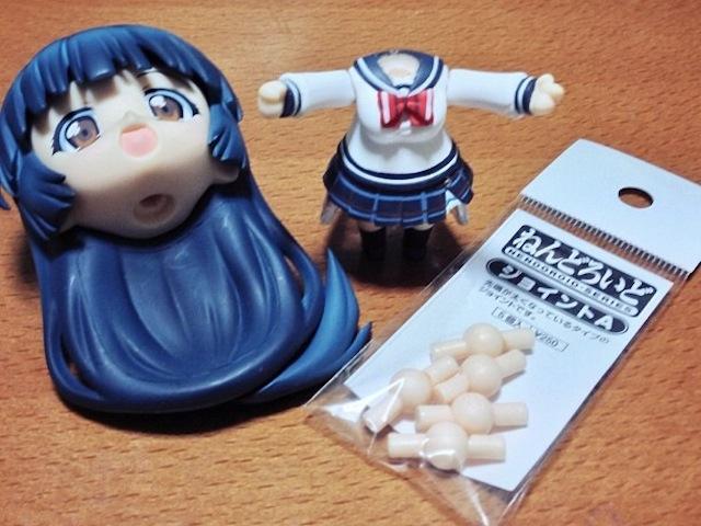 Spare Nendoroid joints for Nankyoku Sakura