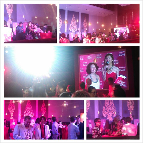 Colgate's White Hot party