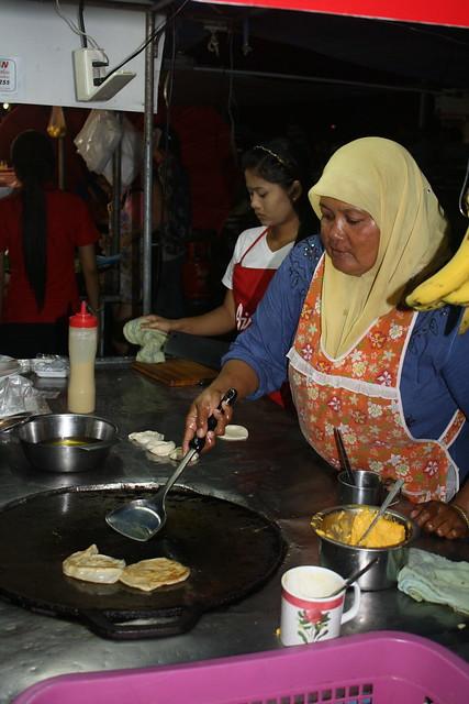 The Banana Pancake Lady Before the Night Boat to Koh Tao
