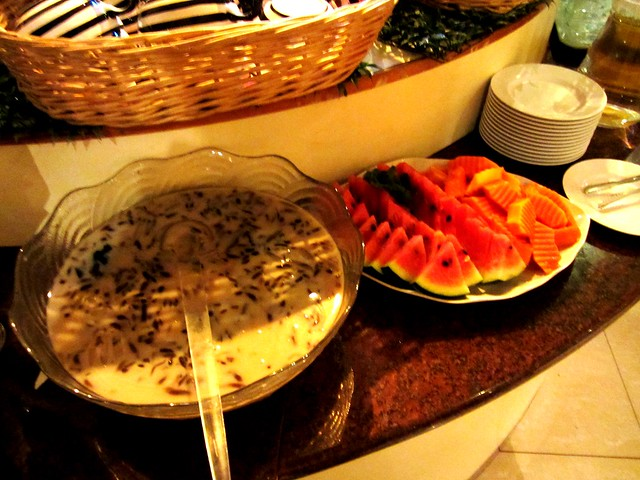 Dessert & fruits