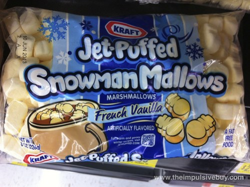 Jet-Puffed SnowmanMallows French Vanilla