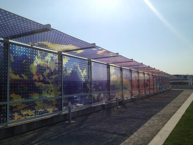 Seattle Cloud Cover glass bridge