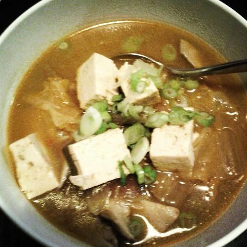Lamb Kimchi Chigae