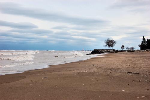 Lake Michigan after Sandy 13