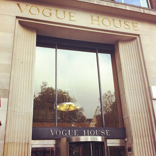 I will be an intern in Vogue in February #happyface #dreamcometrue