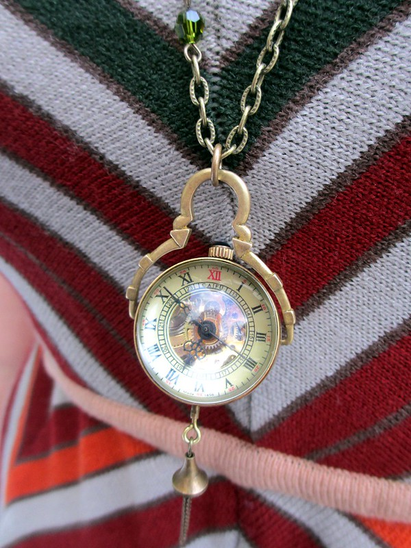 Watch necklace from Park and Pond. (Photo by Pat Zimmerman.)