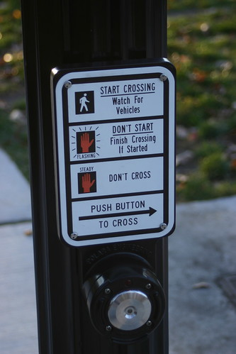 new crossing button