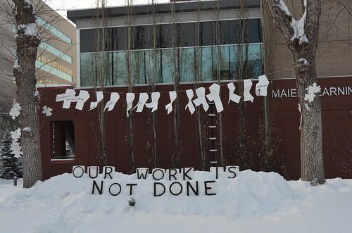 December 6 Ice Vigil