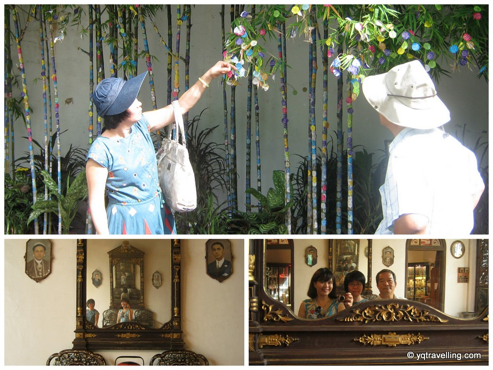 The parents and I at Pinang Peranakan Museum