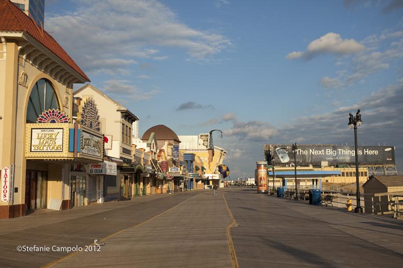 Atlantic City Boardwalk, Post-Sandy