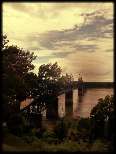 Mississippi River in Vicksburg, MS
