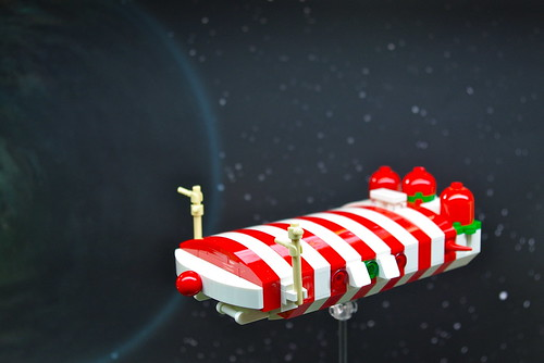 """Rudolph"" - Candy Cane Class Corvette (1)"