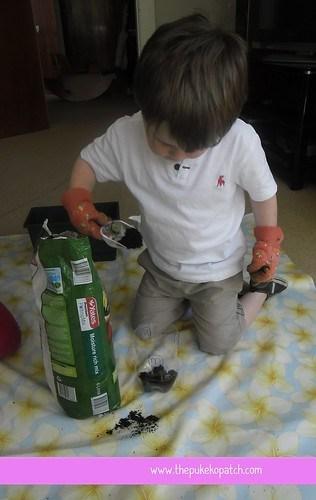 Soil scooping