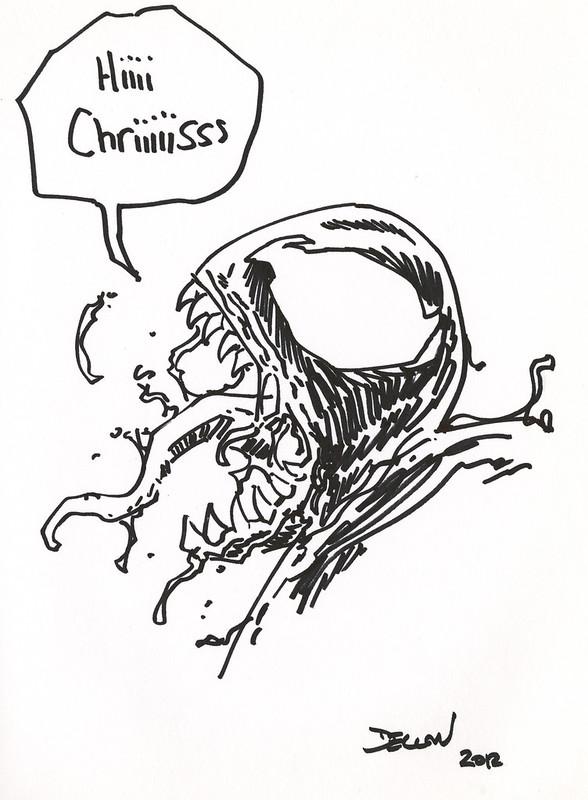 Venom by Delcan Shalvey