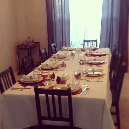 table setting thanksgiving