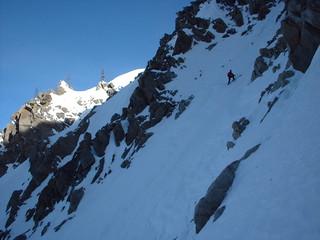 The upper steeper bit