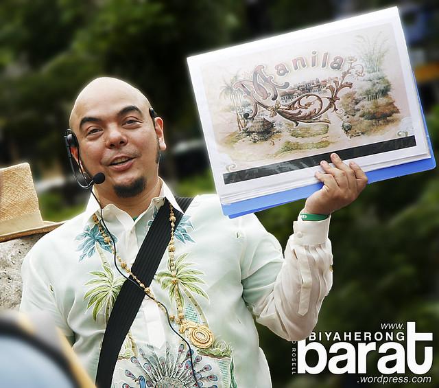 Carlos Celdran Intramuros tour philippines