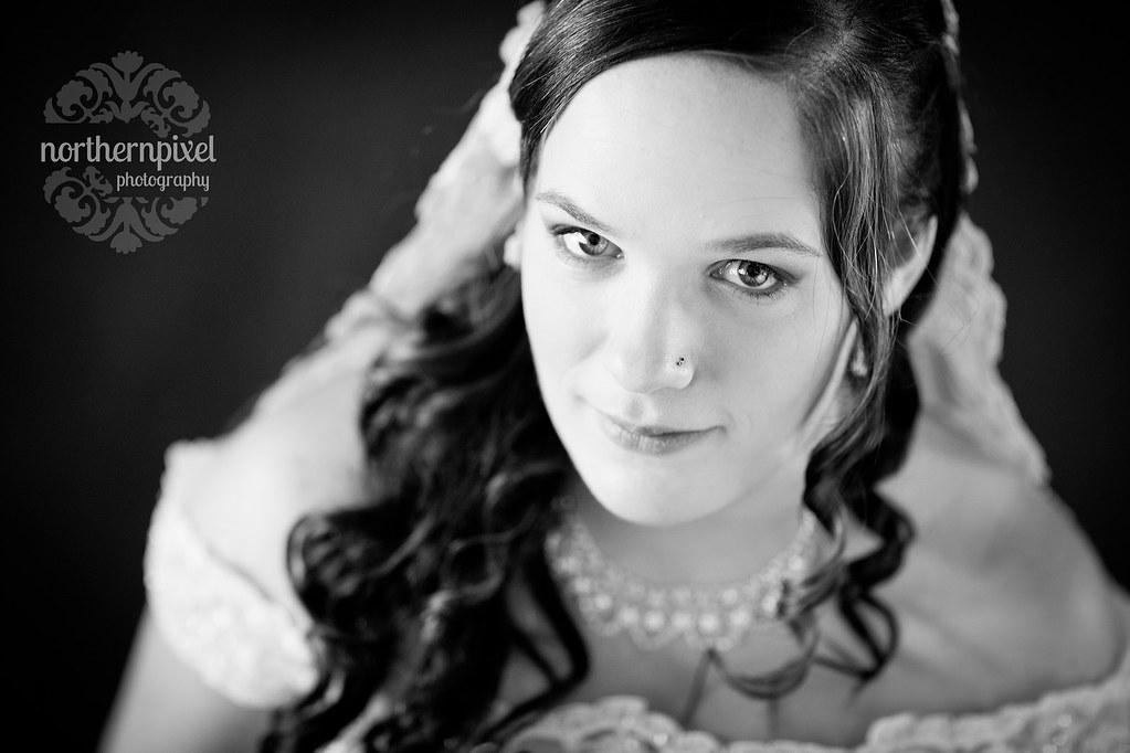 Melanie - Bridal Portrait Prince George British Columbia Canada