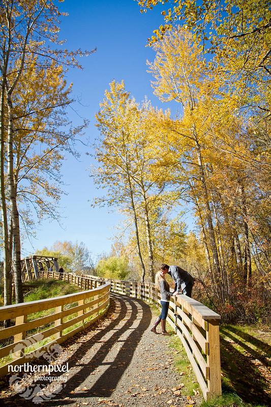 Fall Family Photos - Cottonwood Island Park