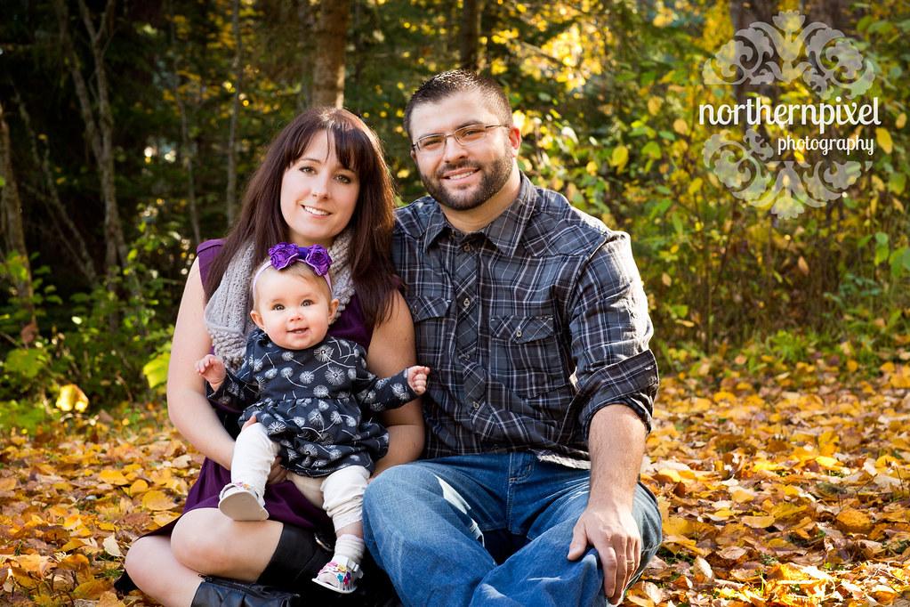 Fall Family Photos Ness Lake