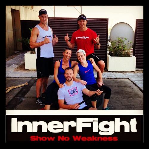 Solid team #innerfight #evolve #workout