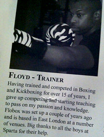Floyd from FloBox - Boxing Trainer