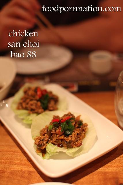 chicken san choi bao