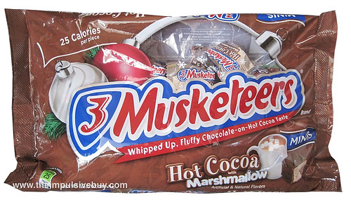 3 Musketeers Hot Cocoa with Marshmallow Minis