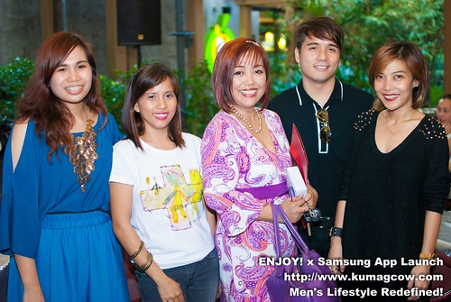at the Enjoy VIP Ph Mobile App launch