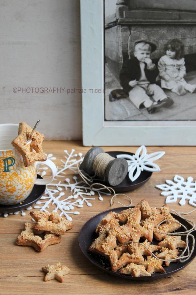 Stelline biscotti di Natale