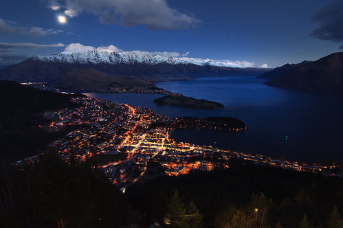 Queenstown, Lake Wakatipu & The Remarkables