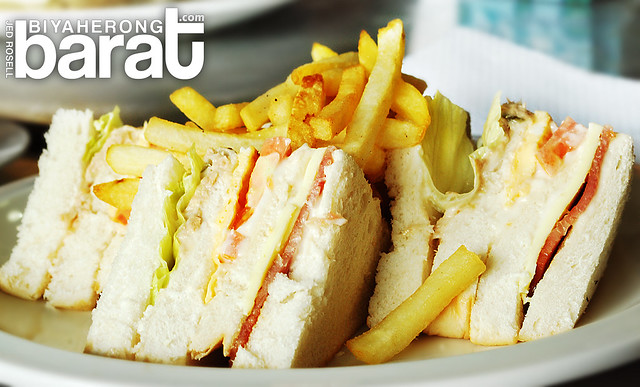 Clubhouse sandwich in San Fernando City La Union