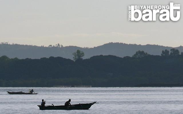 fishermen in hagnaya cebu