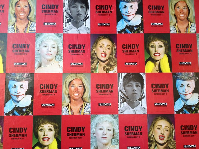 SF MoMa posters Cindy Sherman exhibit