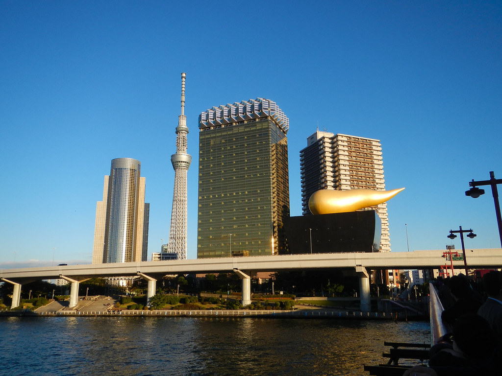 Tokyo Skytree Skyline