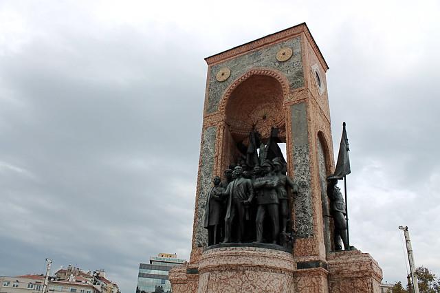 Taksim Sq and Ataturk