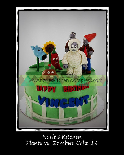 Norie's Kitchen - Plants vs Zombies Cake 19 by Norie's Kitchen